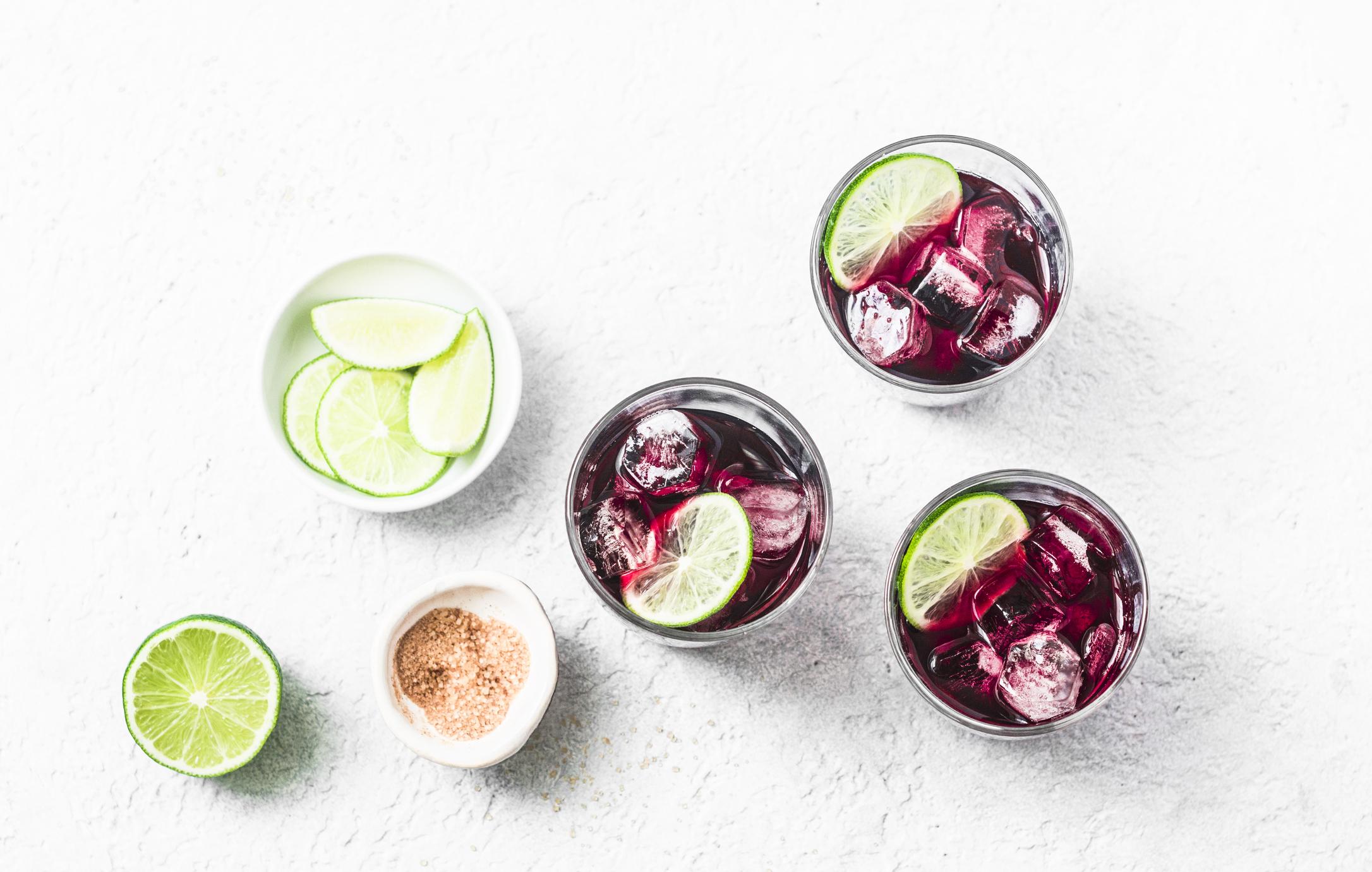 Fresh Hibiscus Tea Recipe De Silva Spices